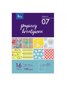Papier kreatywny A4 zestaw nr 07
