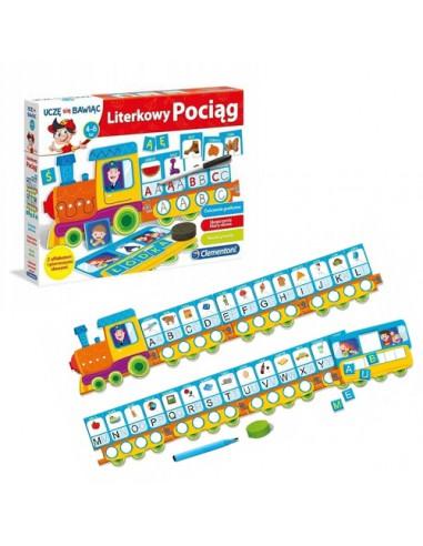 Gra Literkowy pociąg nauka liter
