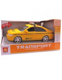 Auto Taxi żółte na baterie