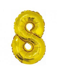 """Balon foliowy cyfra """"8"""",..."""