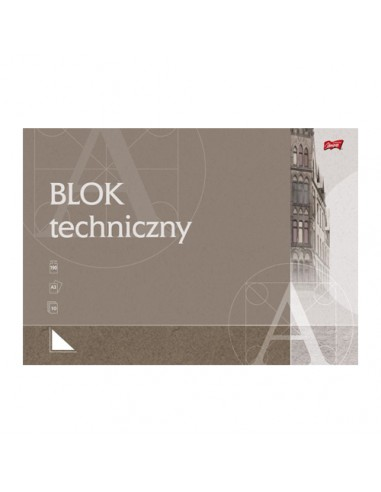 Blok techniczny biały A3 10 kartek...