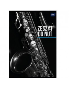Zeszyt do nut A4 16k 70g UV...