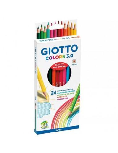 Kredki ołówkowe Giotto Colors 3,0 24...