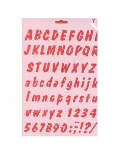 Szablon alfabet KOH