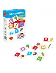 Puzzle Alfabet- zabawa i nauka