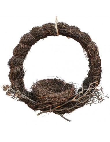 Ring rattanowy z gniazdkiem 25cm