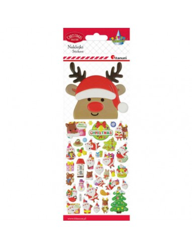 Naklejki świąteczne do dekoracji...