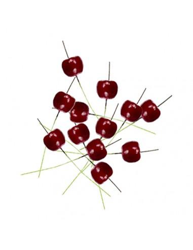 Dekoracja jabłuszka na piku 12 szt....