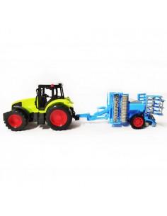 Traktor zabawka z agregatem...