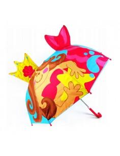 Parasol 3D syrenka z koroną...